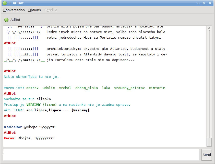 Screenshot Pidgin (0.3)